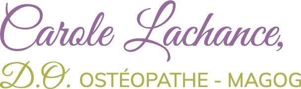 Carole Lachance Osthéopathe - Partenaire des Enfants Gioia
